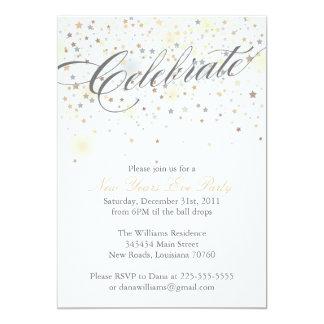 Comemore o ano novo convites personalizado