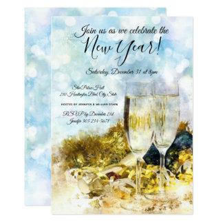 Comemore o convite de festas da véspera de Ano