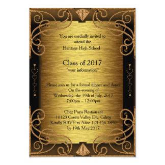 Comensal & dança do convite, para ser terminado convite 12.7 x 17.78cm