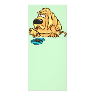 Comensal do cão 10.16 x 22.86cm panfleto