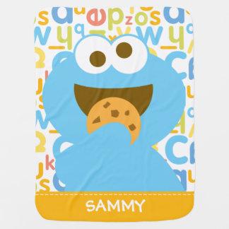 Comer | do monstro do biscoito do bebê adiciona cobertores de bebe