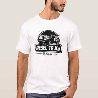 Comerciantes diesel do caminhão camiseta