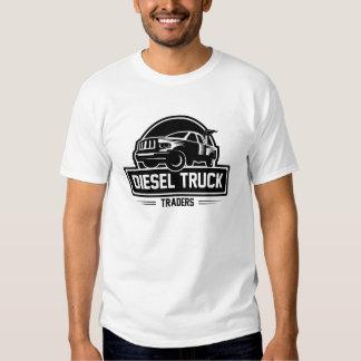 Comerciantes diesel do caminhão tshirts