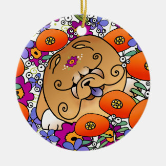 Comida de BINDI FLOWER POWER - ornamento