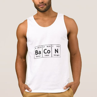 Comida dos elementos de palavras da mesa periódica