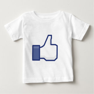 Como a mão camiseta para bebê