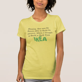 como eram os romanos capazes de construir o camiseta