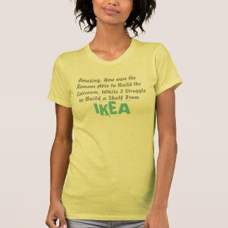 como eram os romanos capazes de construir o t-shirts