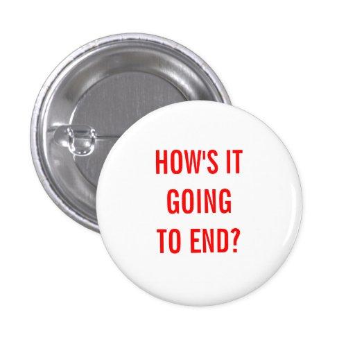 Como está indo terminar? boton