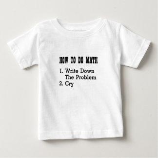 Como fazer camisetas engraçadas da matemática