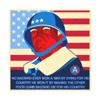 Como ganhar a Guerra-Patton Impressão Em Tela