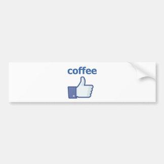 COMO o café Adesivo Para Carro