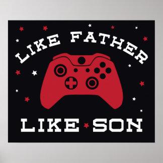 Como o pai - como o filho (Xbox) Posteres