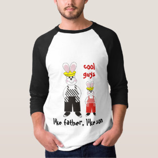 Como o pai goste de camisetas engraçadas do filho