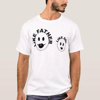 como o pai goste do filho camiseta