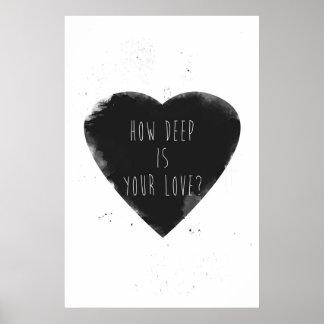 como profundo é seu amor pôster