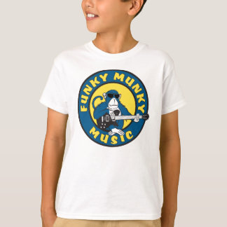 Como t-shirt Funky dos miúdos Camiseta