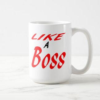 Como um chefe caneca