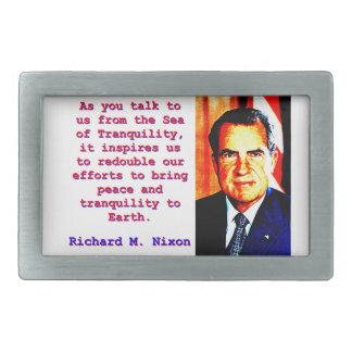 Como você nos fala - Richard Nixon