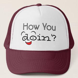 Como você o chapéu do camionista engraçado do boné
