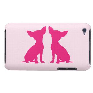Companheiro bonito da capa do ipod touch do cão co capa para iPod touch