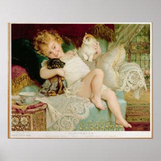 Companheiros de brincadeira, das peras Anual, 1903 Poster