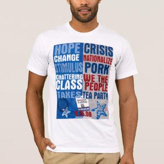 Compare & contraste o t-shirt camiseta