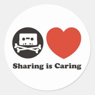 Compartilhar está importando-se adesivo