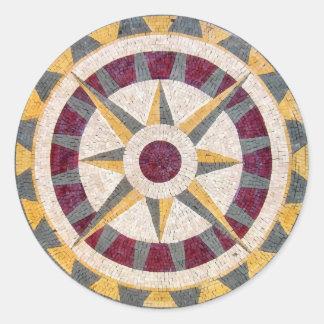 Compasso náutico celta adesivo