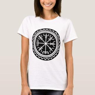 Compasso náutico de Viking Vegvisir Camiseta