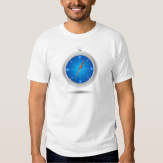 Compasso Safari Navegação Tshirts