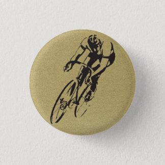 Competência da bicicleta bóton redondo 2.54cm