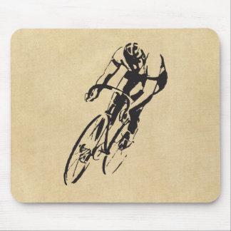 Competência da bicicleta mouse pad