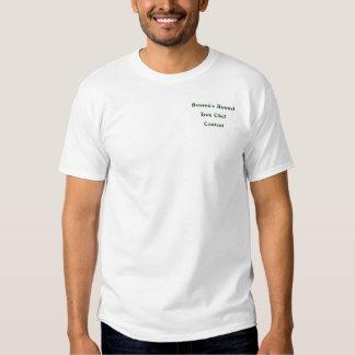 Competição anual do cozinheiro chefe do ferro de camiseta