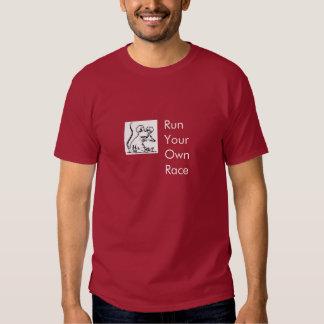 Competição desenfreada t-shirts
