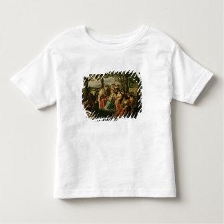 Competição do canto camiseta infantil
