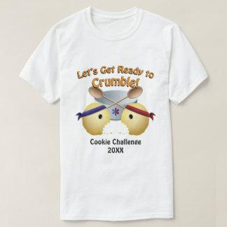 Competição do cozimento do biscoito camiseta