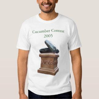 Competição do pepino tshirt