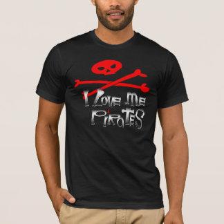 Competição do pirata camiseta
