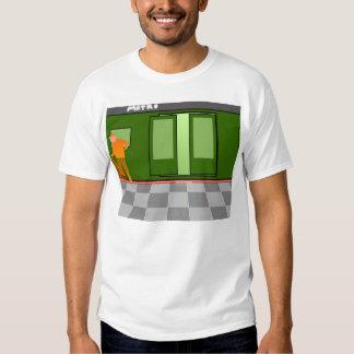 Competição do salto do metro t-shirt