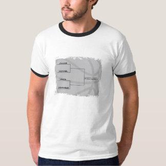 Competição final do húmido t-shirts