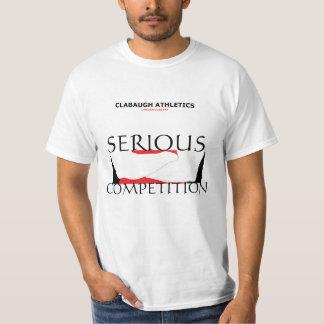 Competição séria do ATLETISMO de CLABAUGH Camiseta