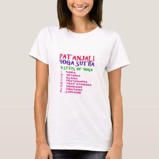 Compilação de Sutra da ioga do camiseta PATANJALI