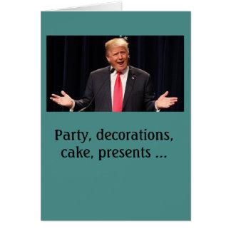 """""""Complicou"""" o cartão de aniversário de Donald"""