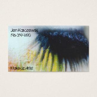 Compo o cartão de visita do artista