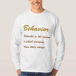 COMPORTAMENTO do texto:  Conduta, Social, Tshirt