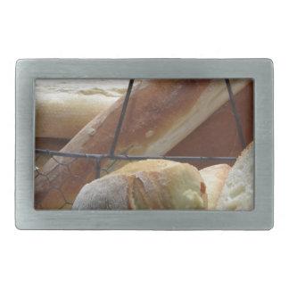 Composição com tipos diferentes de pão cozido