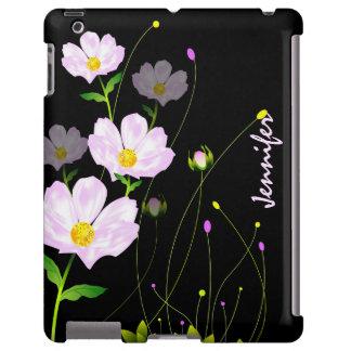 Composição de flores cor-de-rosa. Poster, caso do  Capa Para iPad
