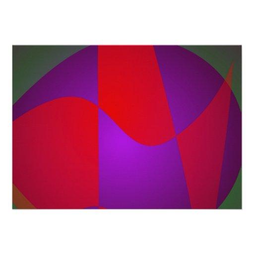 Composição simples do abstrato do contraste convite