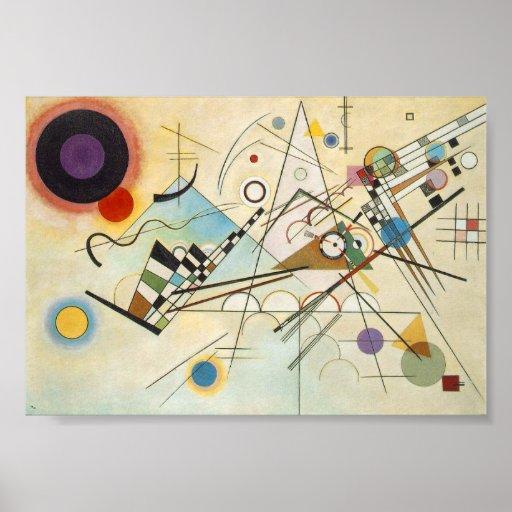 Composição VIII por Kandinsky. Posteres